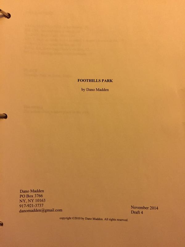 Foothills scripts