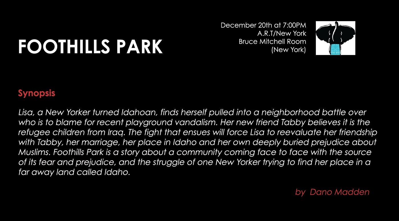 FoothillsPark_Synopsis